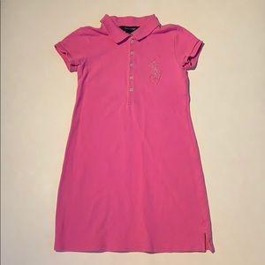 Ralph Lauren girl pink dress